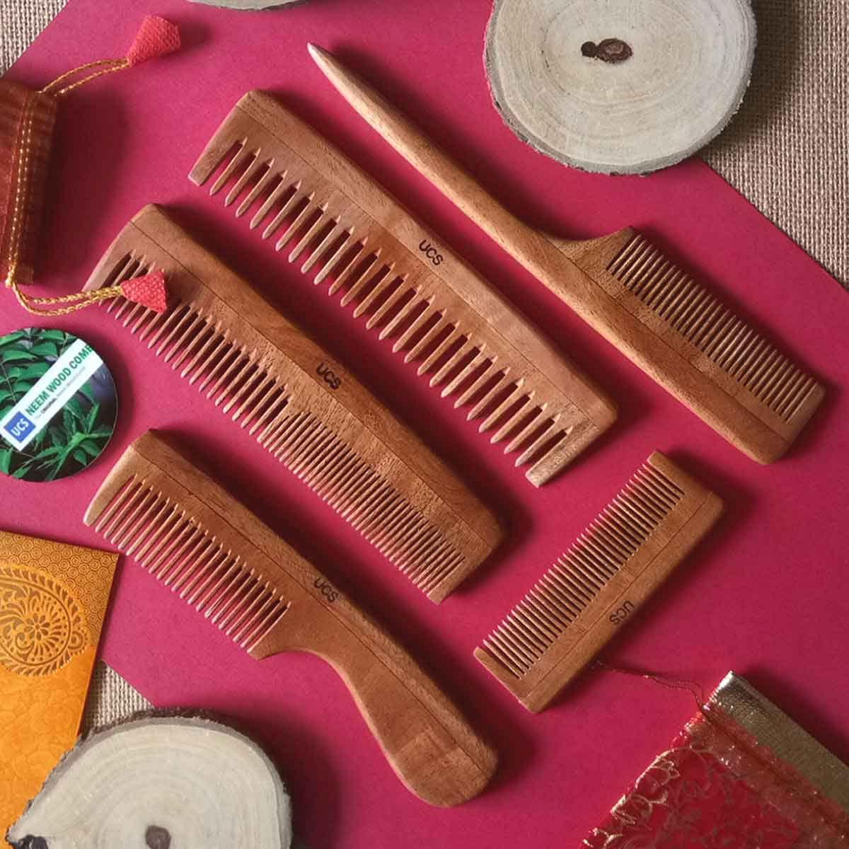 Ucs Neem Wood Comb The Original Neem Wood Combs Neem Wood Comb