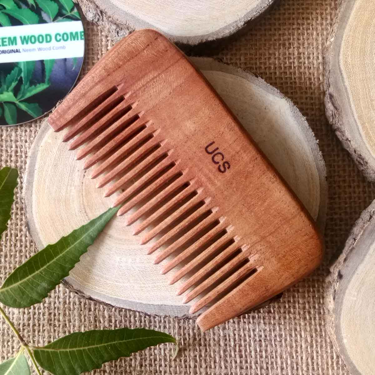 UCS Neem Wood Beard Comb
